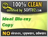 Ideal Blu-ray Copy is completely clean, no virus, no spyware, no adware, safe to install and use
